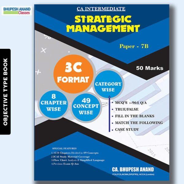 CA Inter Strategic Management MCQ's Book