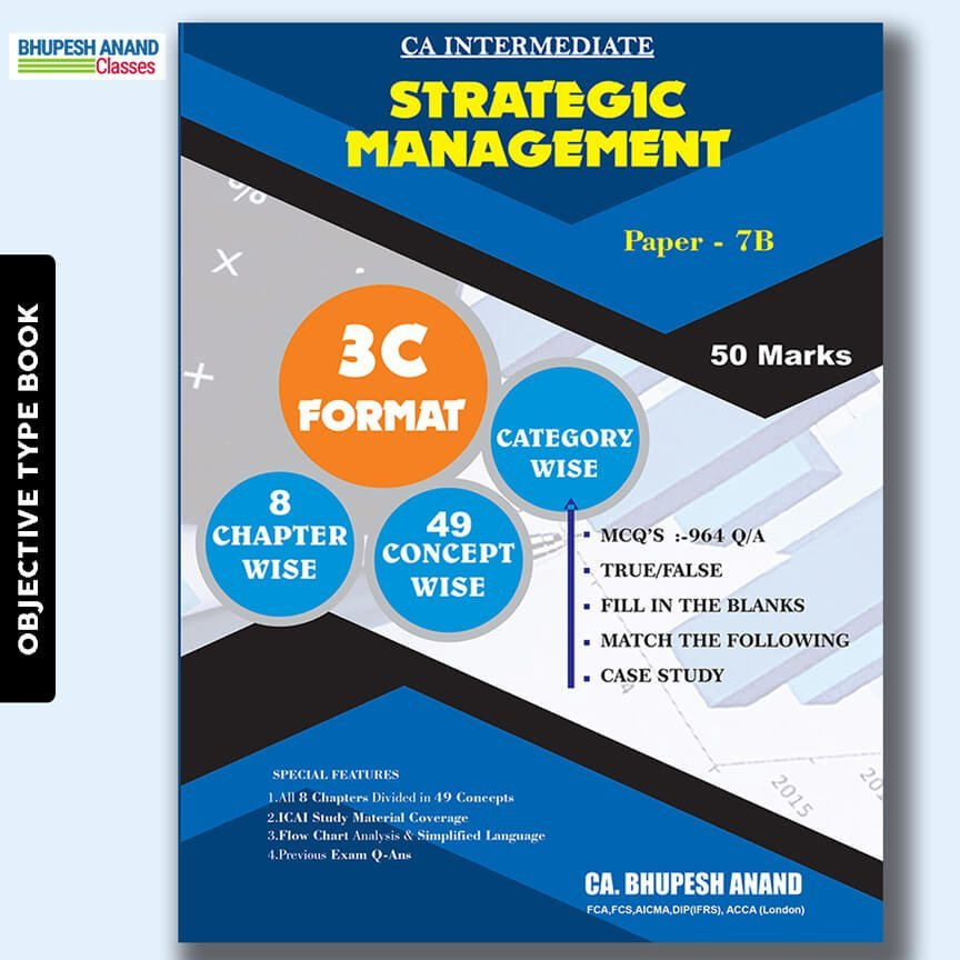 CA Inter Strategic Management MCQ's Book
