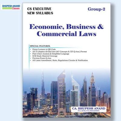 CS Executive EBCL Book