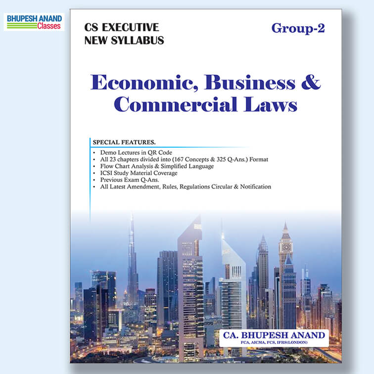 CS Executive EBCL Book