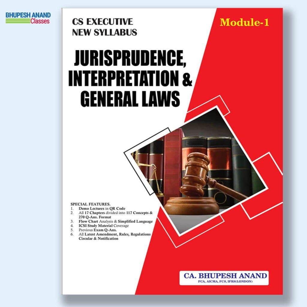 CS Executive JIGL Theory Book